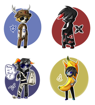 Halloween Requests- Batch 1 by SlayersStronghold