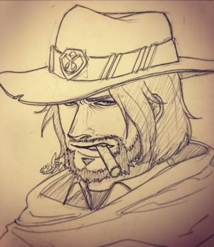 McCree by magicsharkk