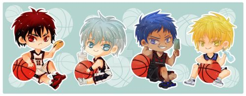 KuroBasu Chibis by Kawaii-Dream