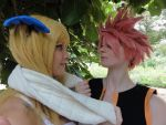 Lucy Tartaros and Natsu Cosplay Fairy Tail by Lucy-chan90
