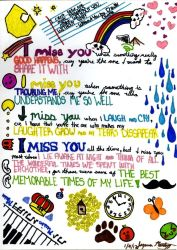 I Miss You by roseie
