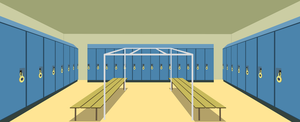 Locker room (Background) by LimeDreaming