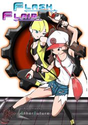 [Pokemon B/W 18+ doujin] FLASH FLAIR (cover) by EtherFuture