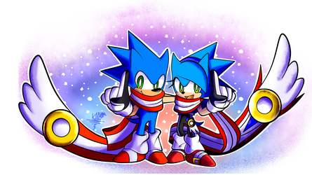 Sonic Skyline happy Anniversary 3 by kellylaeriza132003
