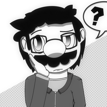 Me but somewhat in manga art style by Irham7762