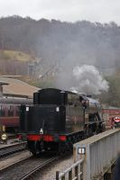 Reversing Into Keighley by robertbeardwell