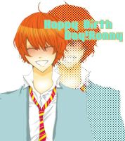 happy birth day Ron by Natsuhati