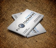 Photographers Business Card by es32