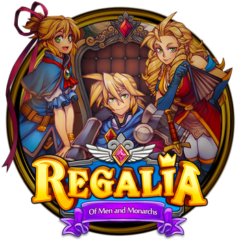 Regalia of Men and Monarchs Dock Icon by OutlawNinja
