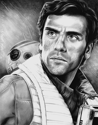 Poe Dameron by Spectrum-VII