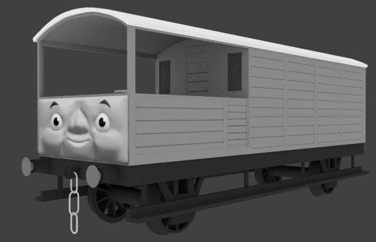Toad the Great Western Brakevan by Sirfowler1