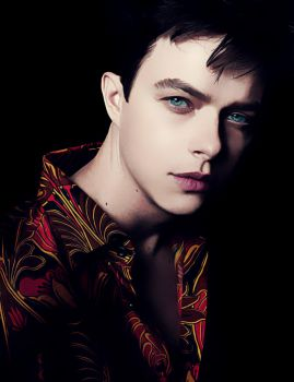 Dane DeHaan Portrait Effect by marcielucas