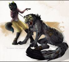 her own beast by Tai-L-RodRigueZ