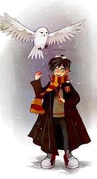 A Very Potter Winter by chuwenjie