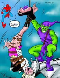 The night Gwen Stacy Died Laughing by ComicTicklingCollect