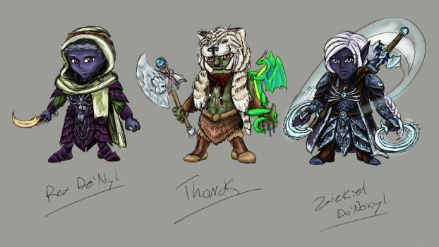 Project Storm: Chibi 7-9 by optimusprimus001