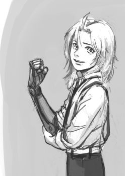 edward elric by yellowcoin