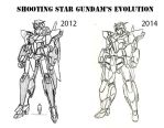 Shooting Star Evolves by Linkinpark30101