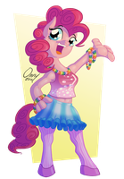 Pinkie Pose by Omny87