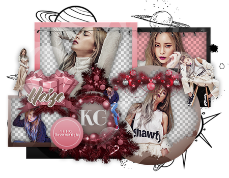 HEIZE | PACK PNG by KoreanGallery