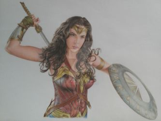 Champion of the Amazons WIP by bLo0dheaven