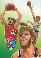 Bill Walton Montage by dreadfullycreative