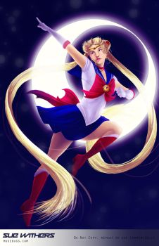 Sailor Moon! by SueWithers
