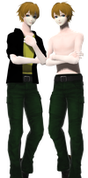 [MMD] David Hoover [UPDATED DL] by PastaAndWhiteRice