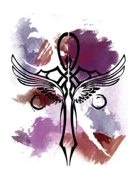 Water Color Ankh Tattoo by rayrayloser11