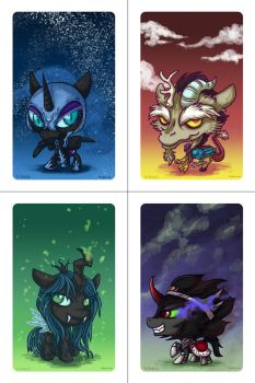 MLP Villains by Kiriska