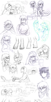 Sketch dump 50 by LiLaiRa