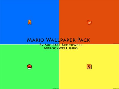 Mario Wallpaper Pack by mbrockwell