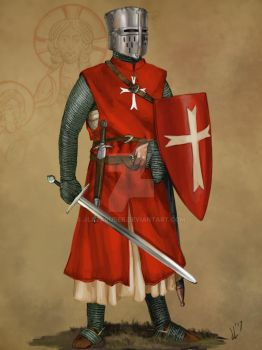 Knight Hospitaller of Saint John by JLazarusEB