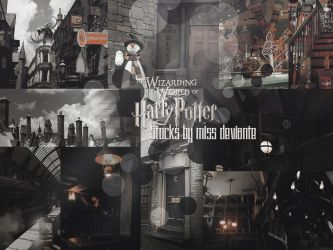 Harry Potter stocks by Miss-deviantE
