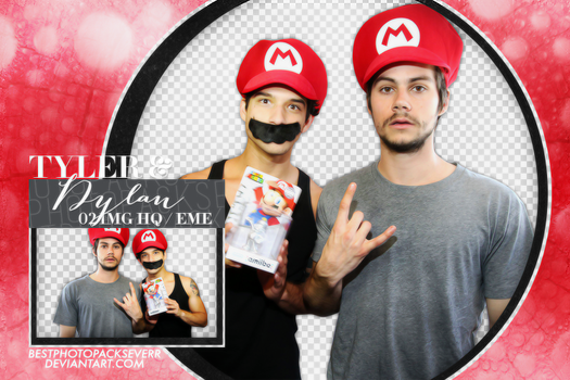 Png Pack 1628 - Tyler Posey and Dylan O'Brien by xbestphotopackseverr