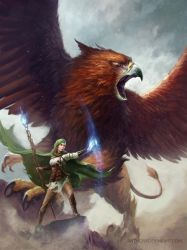 Griffin Mage by Anthony Devine by AnthonyDevine
