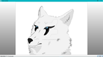 Ruuza ((AzureHowl) made by Shilach) Drawn by Me by 0SovietGhost0