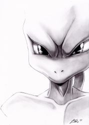 Mewtwo by LightvsRight