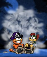 Garfield's Halloween Special! by CreedStonegate