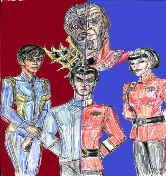 Star Trek War and Peace by theaven