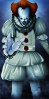 PENNYWISE THE DANCING CLOWN 2017 by ERIC-ARTS-inc