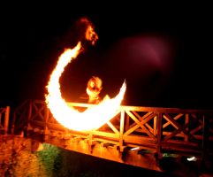 Fire Scythe - Bridge by MD-Arts