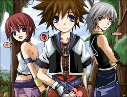 Kingdom Hearts vvv by kurot