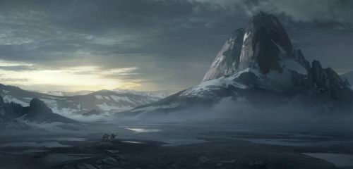 Matte Painting - Ride 2 by aJVL