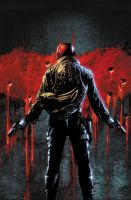 Red Hood 18 cover by BlondTheColorist