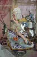 Fairy of the Court 17th cent by SutherlandArt