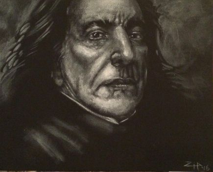 Snape 2  by tattoos-by-zip