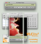 VLClite2 Single Window + Icons by omegann