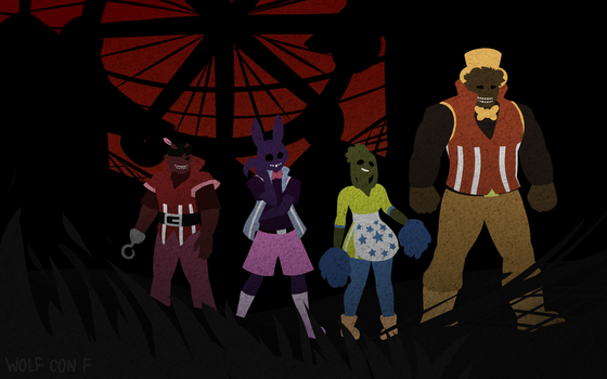 Welcome to the carnival by Wolf-con-f