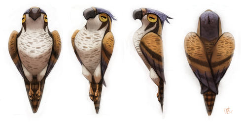Daily Painting 617 # Sidhe - Siobhan Rotation S. by Cryptid-Creations